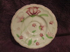 "Living Art Saucer Plate ANGELIQUE Pattern 6 7/8"" Hand Painted Mint Condition"