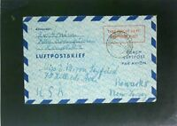 Germany 1950 60Pf Taxe Percue Letter Cover to USA (II) - Z2473