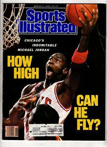 1985, 1989 Sports Illustrated, vintage lot of 2. Michael Jordan, Kareem Abdul-J.