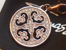 New Thomas Sabo rose gold plated silver zirconia arabesque charm RRP £98