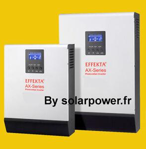 Onduleur hybride 1kVA 12V-230V 50A Panneau solaire réseau Énergie renouvelable