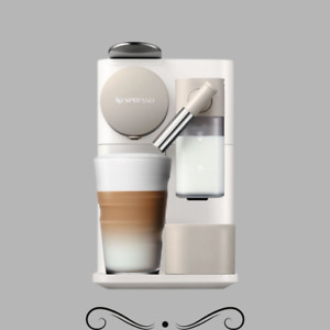 Delonghi EN500W Lattissima one espresso capuccino machine, White