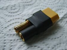 No Wires XT60 Female/Male To 5.5mm Bullet Connector Adapter