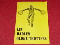 [PROGRAMME SPORTS BASKET BALL]  EO 1959 HARLEM GLOBE TROTTERS Paris Très Rare!