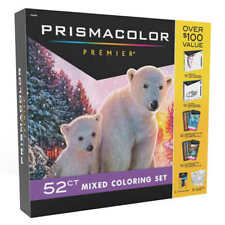New listing Prisma Premier Gift Set Prismacolor 52 piece Premium Color Art Markers Pencils