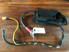 Audi A6 RR Battery Cable Overload Fuse W/Bracket & Cables # 4F0 971 812 A