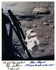 Apollo 14  Alan Shepard & Edgar Mitchell Signed Lunar Surface