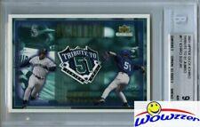 2001 UDA Ichiro Suzuki JUMBO ROOKIE Limited Edition #/2001 BGS 9 MINT Yankees !!