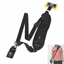 Quick Rapid Camera Single Shoulder Sling Belt Neck Strap For Digital SLR Sony Pe