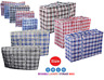 Jumbo Laundry Bags Zipped Reusable Large Strong Shopping / Storage Bag UK SELLER
