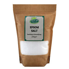 Epsom Salt   Magnesium Sulphate   BP Grade   Bath Health Garden Beauty   25kg