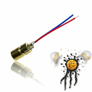 Laser Diode 5mW 650nm NIR nahes Infrarot 3V 5V ESP8266 Arduino Raspberry Pi