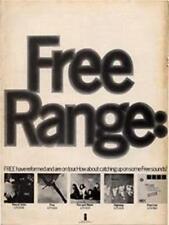 Free Range LP advert Time Out cutting 1972