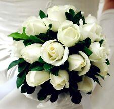 Flower DIY Decoration  1X Foam Bouquet Holder Handle Bridal Floral LOC Wedding