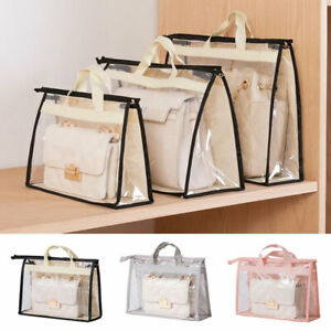 Handbag Wardrobe Bag Cover Anti-dust Bag Non-woven Fabric Hanging Storage Bag