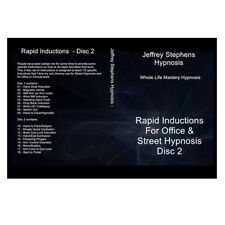 Instant Hypnotic Inductions - 2 DVD Set