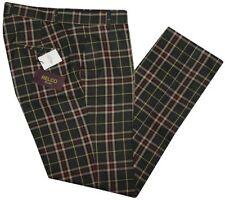 Pantaloni da uomo regolanti verdi