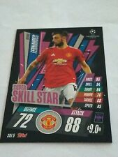 Match Attax Extra 20/21 Bruno Fernandes Super Skill Star Man Utd