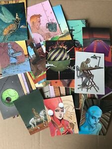 Moebius – Complet 90 Collector Cards Trading cards set 1993  Cartes COMICS