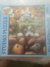 """Studio Puzzle Bits And Pieces """"Tiger's New Discoveries"""" 1000 Jigsaw Puzzle"""