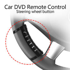 12V Steering Wheel Remote Control w/ ON/OFF Receiver for Car DVD Radio GPS Navi
