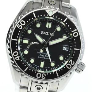 SEIKO Prospex Marine Master Professional 5R66-0BC0 Spring drive Men's_618666