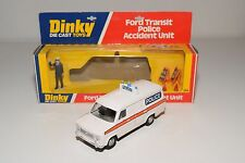 \ DINKY TOYS 269 FORD TRANSIT POLICE ACCIDENT UNIT NEAR MINT BOXED