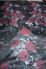 Jacquard Satin Brocade Suiting   Polyester Paisley Reversable Apparel BFab