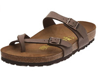 BIRKENSTOCK MAYARI Mocca BROWN 71061 Regular NORMAL  US 6 7 8  EU 37 38 39 40 41