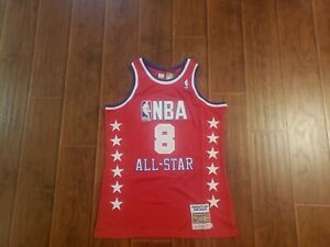 Los Angeles Lakers Kobe Bryant red 2003 All Star Jersey sz. 44 Large
