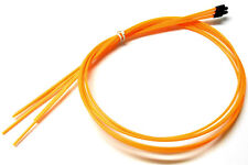 56412O RC Receiver Wire Antenna Pipe with Caps 5 Fluorescent Orange 1000mm Long