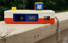 """VINTAGE 1974 FISHER PRICE TOYS PLAY """"POCKET CAMERA"""" TRIP TO THE ZOO MODEL # 464"""
