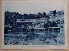 colonies française protectorat - ALGERIE barrage à Beni Iguen Ghardaïa M'zab
