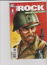 DC SGT.ROCK THE LOST BATTALION # 1 0F 6 2009 BILLY TUCCI / SPARACIO WANTED BOOKS
