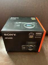 Sony Alpha A6400 24.2 MP Digital Mirrorless Camera - Black