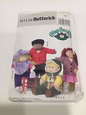 Butterick Cabbage Patch Kids Pattern 5158 Doll Clothes Uncut w Instructions 2007