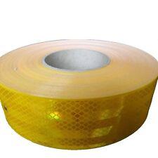(5,50€/m) 1m 3M Reflektorfolie 983 Konturmarkierung Reflex gelb