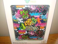 IPAD Disney Parks MOBILE DIGITAL DEVICE Clip CASE MICKEY MOUSE GRAFFITI *NEW*