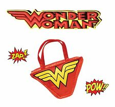 Official Wonder Woman Handbag Fancy Dress Outfit Bag Accessory Hen Party Night
