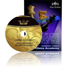 CHESS ACADEMY Schach CD-ROM ISOLIERTER BAUER Neu & OVP!