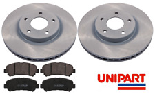 For Nissan Qashqai J10 Front Brake Discs & Pads Set  1.5 1.6 2.0 2007-2014