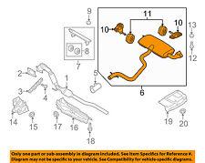 AUDI OEM 11-15 TT Quattro 2.0L-L4-Muffler 8J0253181BB