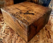 Spalted Tamarind Lumber Woodturning Bowl Blank 6x6x3 Woodworking Knife Handles