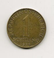 World Coins - Austria 1 Schilling 1979 Coin KM# 2886 ; Lot A3