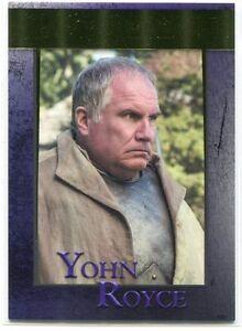 2016 Game of Thrones Season Five Gold 81 Yohn Royce 4/150
