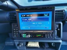 Alpine CVA 1004R Car TV CD Player Sat NAV