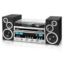 Innovative Technology ITCDS-6000 Retro Bluetooth Stereo System with Turntable