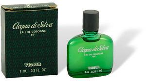 "Victor - ""Acqua di Selva"" Parfum Miniatur Flakon 7ml  EdC Eau de Cologne mit Box"