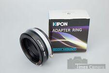 Kipon Nikon Tilt Nik F Mount to M4/3 Micro Four-third Mount (Aperture Ring)