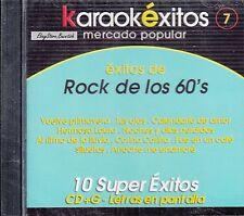 Los Rogers Manolo Munoz Los Apson Boys Rock De Los 60s Karaoke New Nuevo Sealed